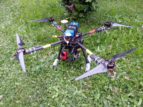Drone et Sortie en D112 planetediy.fr_Drone_Modelisme_TAROT_650_3