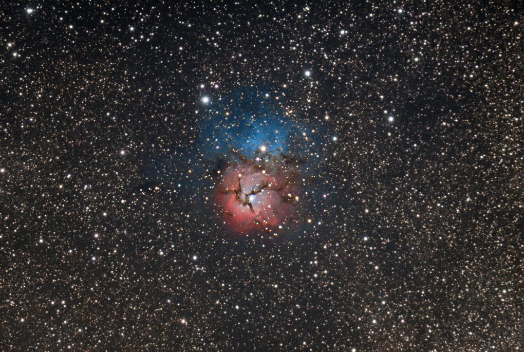 M20 Trifide nebula