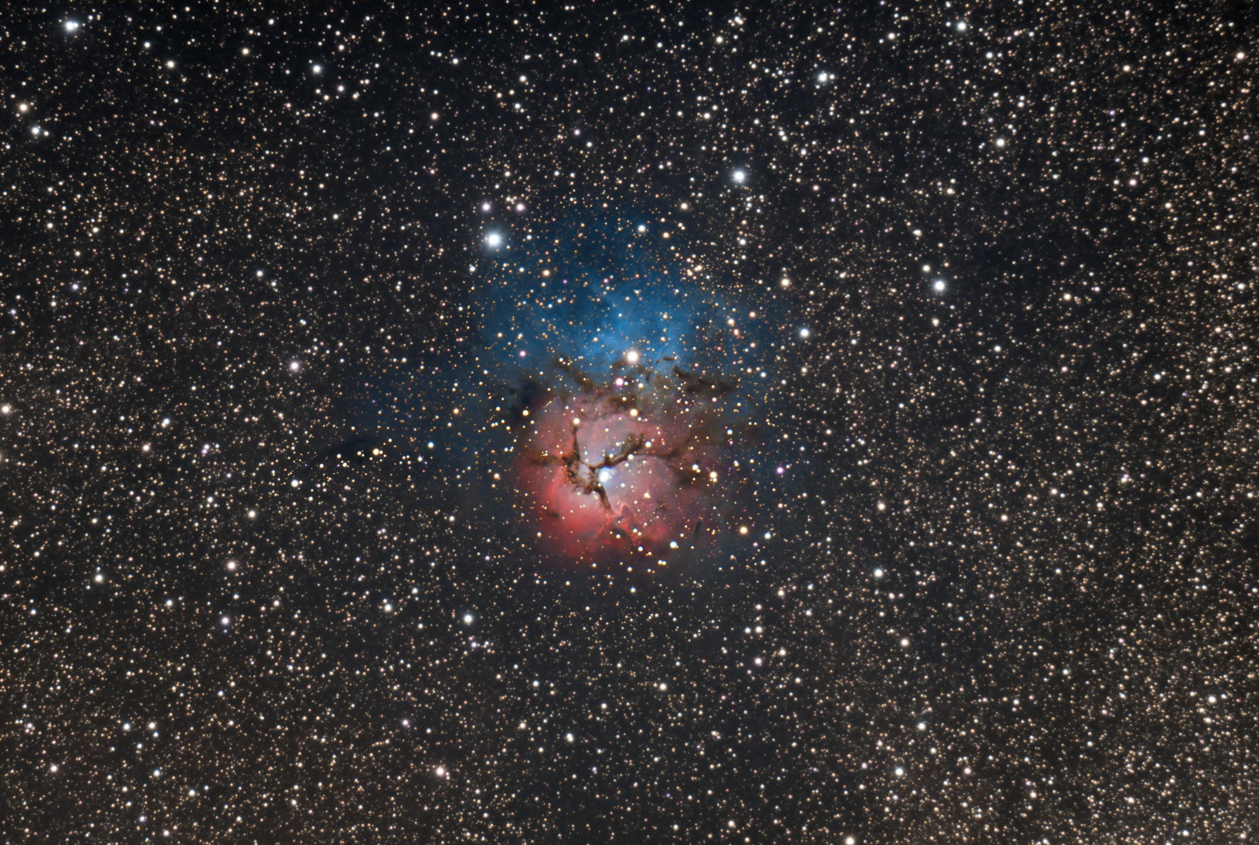 M20 Trifid Nebula Nebuleuse Trifide