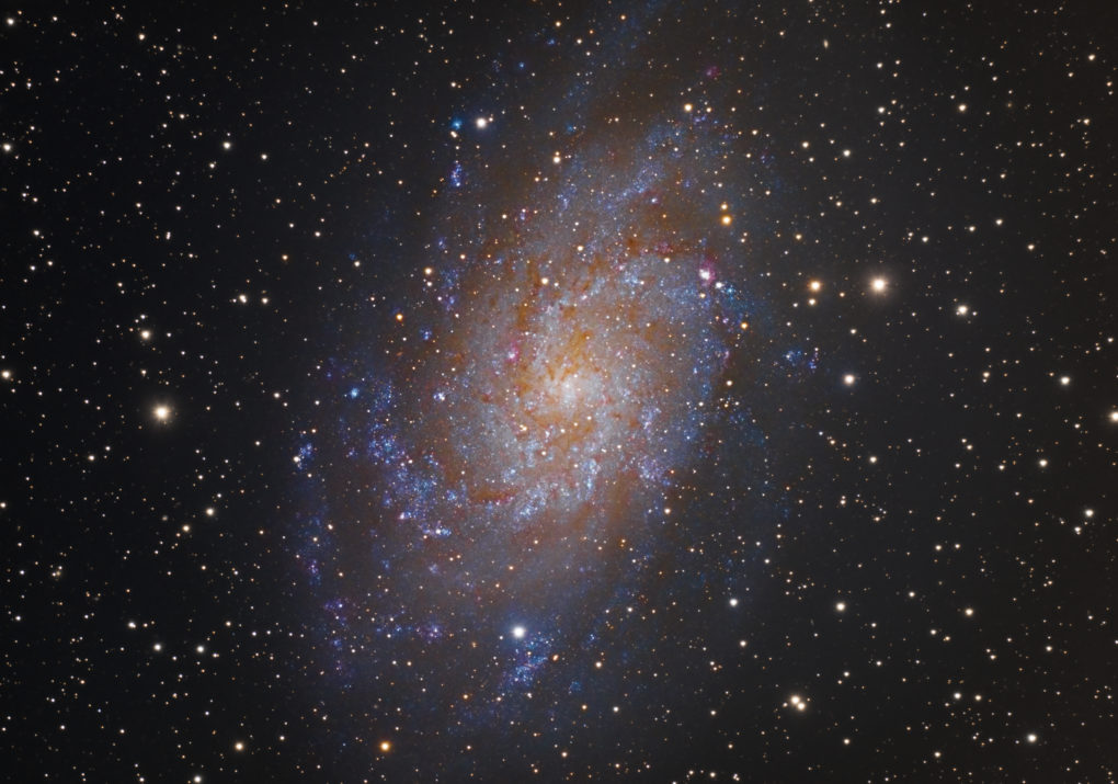 M33 Galaxie Triangle Galaxy
