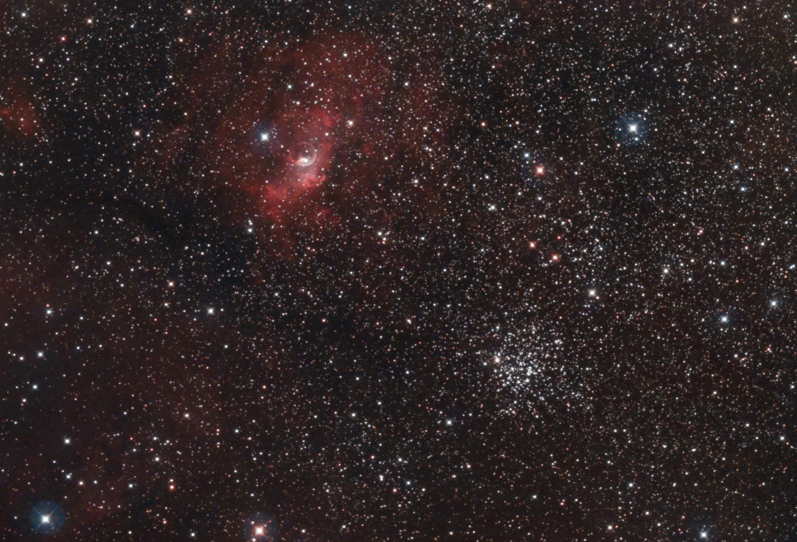 NGC7635 Hypergraph8 SKYTECH QUAD