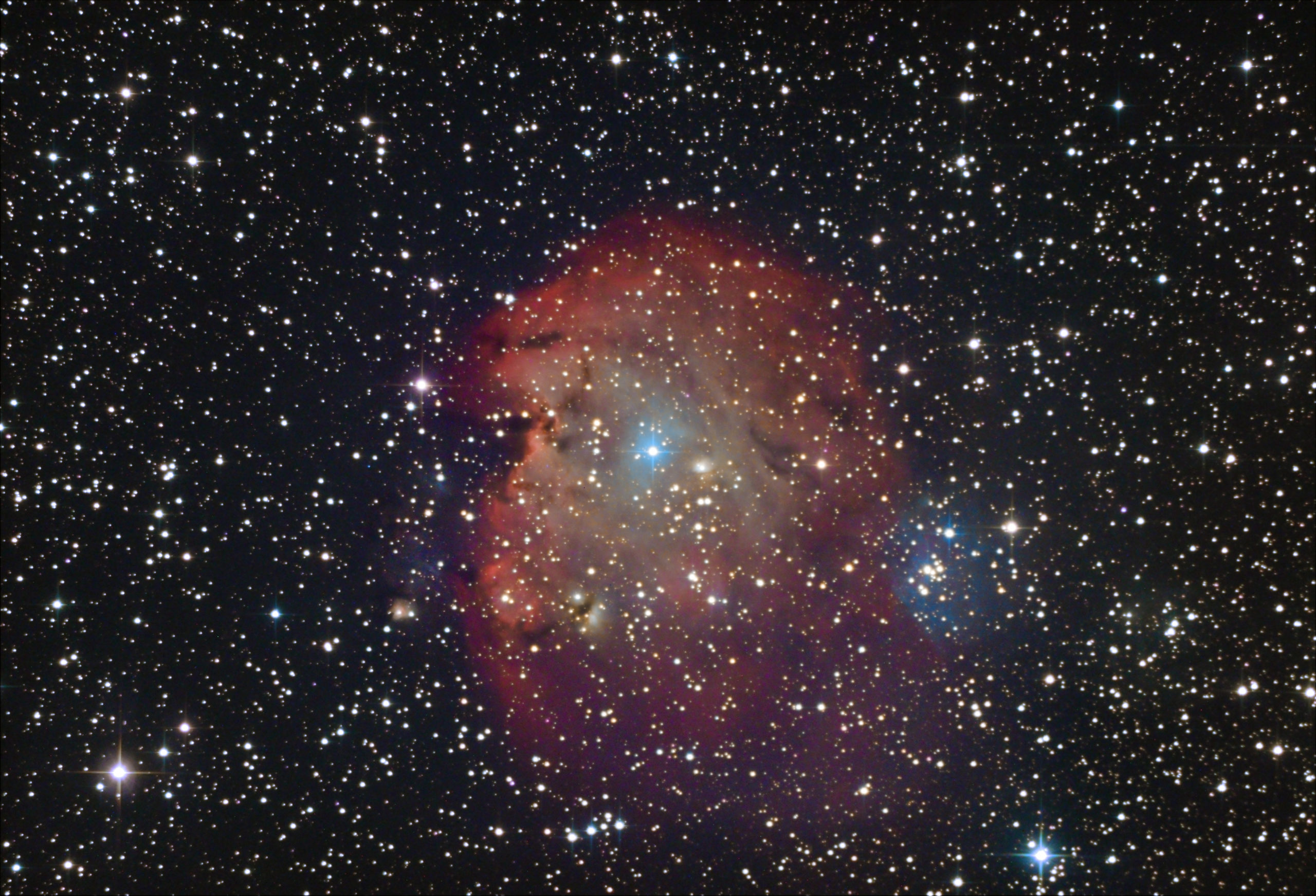 Nébuleuse du singe NGC2175