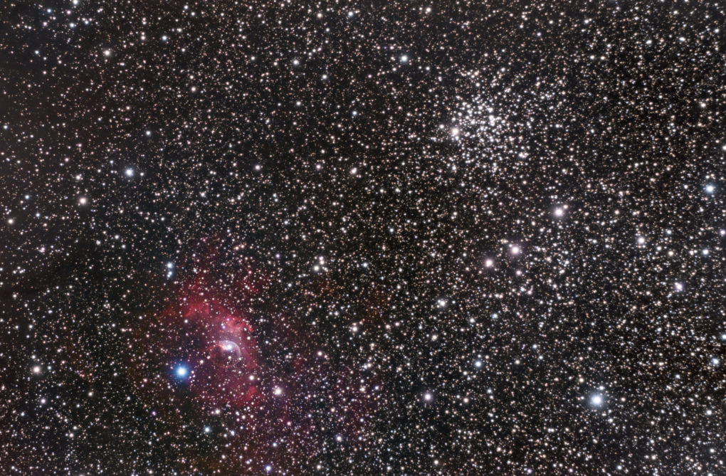 Nébuleuse Bulle NGC7635